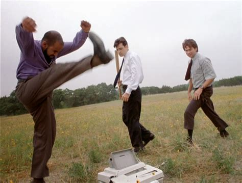 Office Space Meme - office space printer smash meme generator