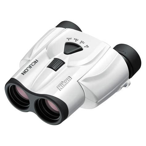 Teropong Nikon Aculon T11 8 24x25 Binoculars nikon 8 24x25 aculon t11 zoom binoculars white 16008 b h photo