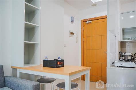 sewa apartemen  nest puri cozy  city view  br