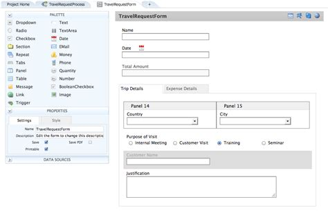 design form website working with web forms