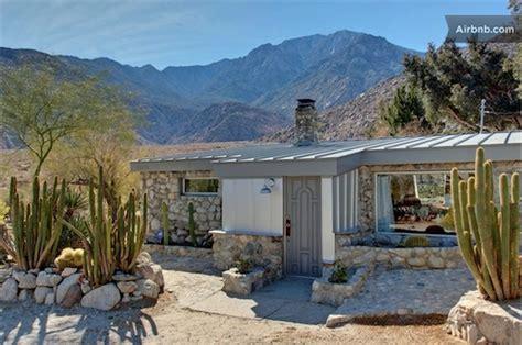 Simply Modern Bedroom With the hermit springs desert stone cabin citydesert