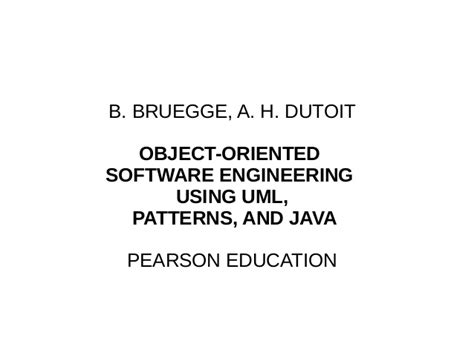 design pattern in object oriented software engineering ingegneria del software bibliografia