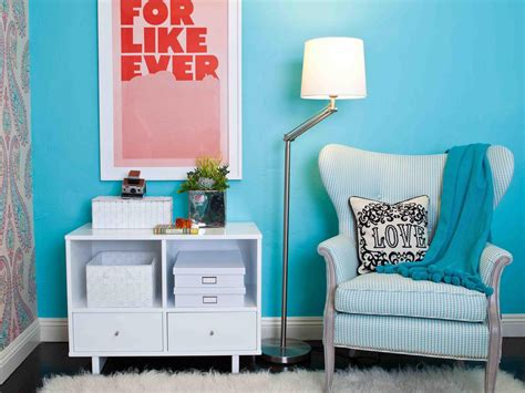 blue bedroom chair photos hgtv