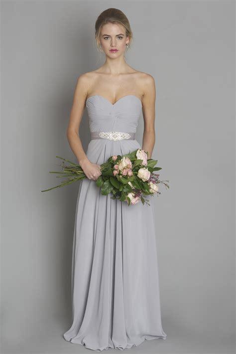 light gray bridesmaid dresses light grey style dc1184 bridesmaid evening debs