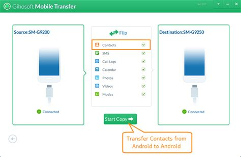 Android To Android Transfer by 3 Ways To Transfer Contacts Between Android Phones