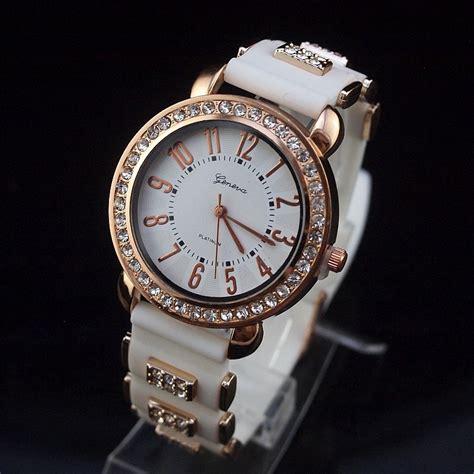 fashion designer brand geneva luxury rhineston watches