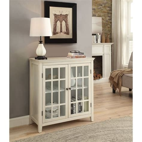 antique white curio cabinet antique double door curio cabinet in white 650200wht01u