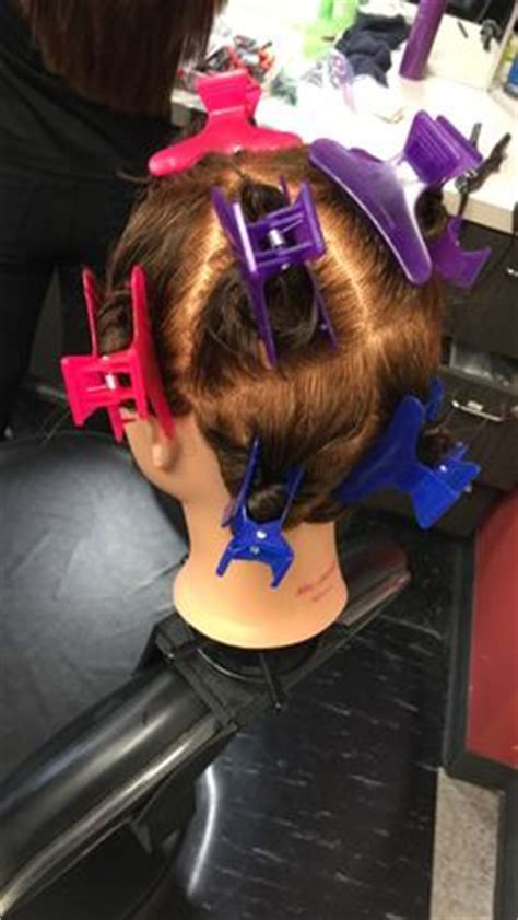 9 Section Perm by Halo Perm Wrap Begin With Section The Into 8 Sections Part The Hair At The Front