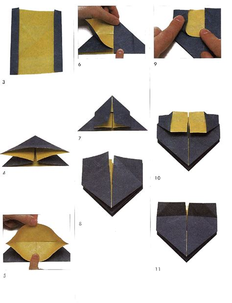 Shafer Origami Diagrams - origami www pixshark images galleries