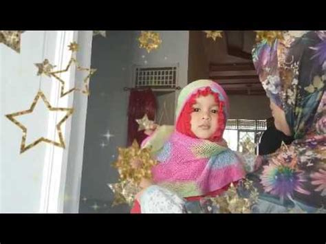 tutorial hijab untuk anak kecil hijab kids tutorial jilbab anak kecil simple video belajar