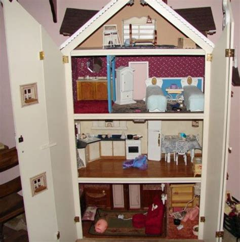 custom doll house custom built barbie scale doll house furnished 60x45x18