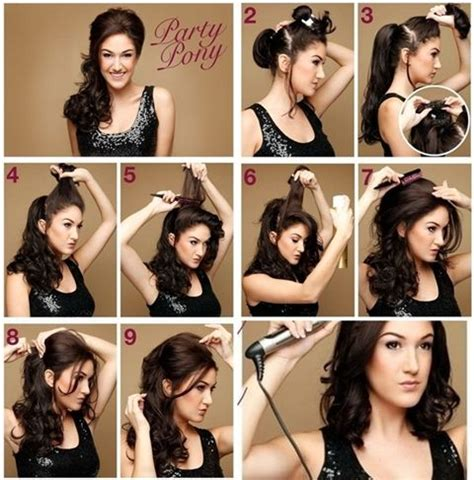easy hairstyles for night party so great that you have long hair that can change hairstyle