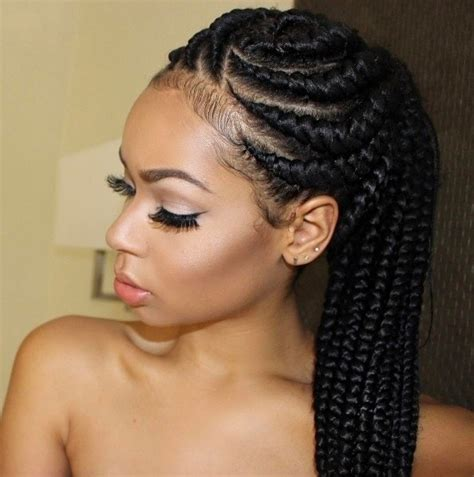 Black Goddess Braids Hairstyles | 6 glorious goddess braids hairstyles to inspire your next look