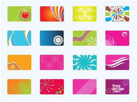free templates for business cards online free business cards vector art graphics freevector com
