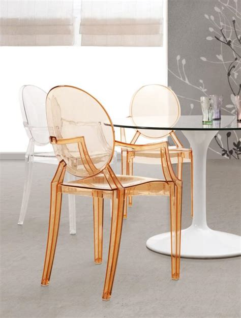 Design Acrylic Dining Chairs Ideas Furniture For A Compact Living Space