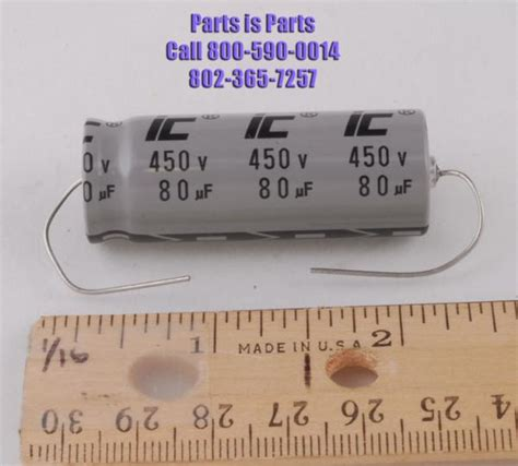 capacitor computer keyboard capacitor 80uf at 450 volts ic 80 450 cap parts is parts guitar parts lifier parts