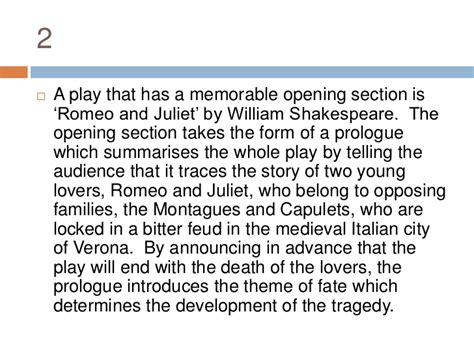 Romeo And Juliet Theme Development | writing the introductory paragraph