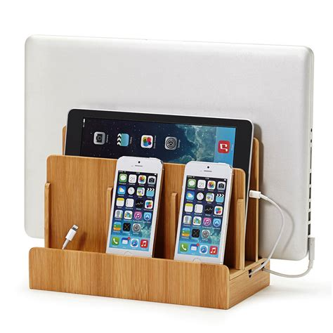 china universal multi cord organizer 5 device charging station great useful stuff 174 bamboo multi device charging station