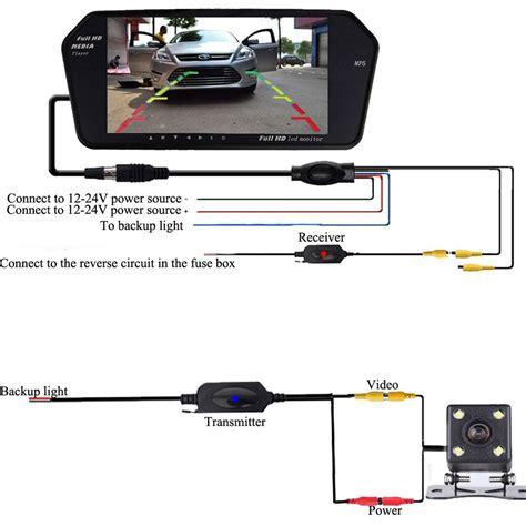 bluetooth wireless car backup camera system  ultra thin