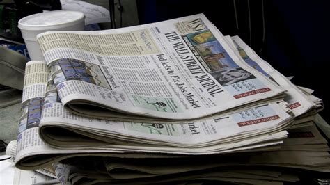 Wsj Personal Journal Section by Wall Journal Sunday Section Exits Journal Sentinel