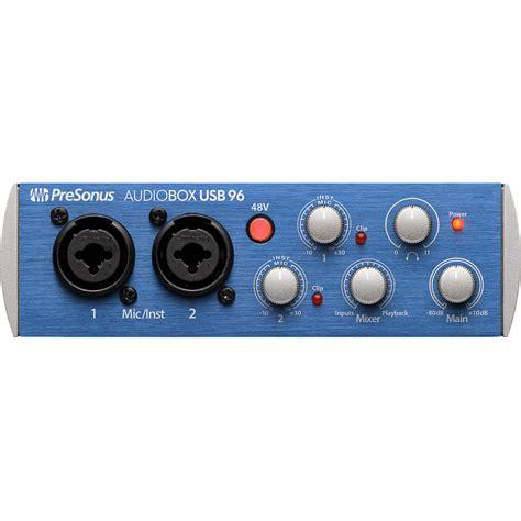 Presonus Audio Box Usb presonus audiobox 96 usb 2 0 audio recording audiobox usb