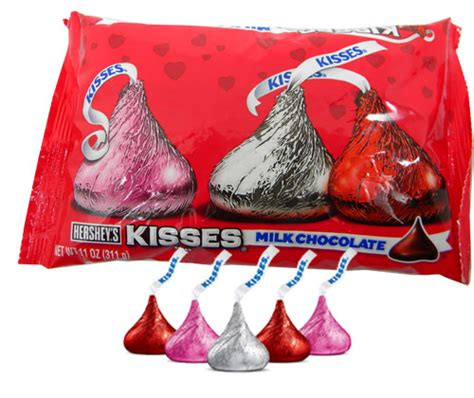 Valentines Kisses by Hershey S Kisses S Day 11oz Blaircandy