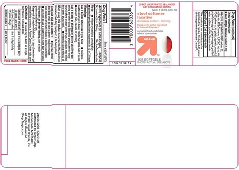 Non Gelatin Stool Softener by Up And Up Stool Softener Capsule Liquid Filled Target
