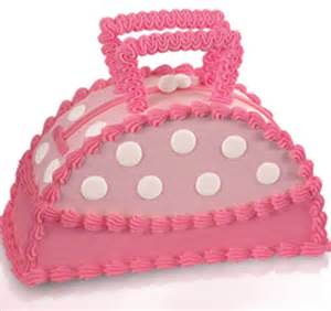 baskin robbins delectable designer bag cake