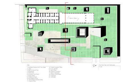 prison floor plan former prison in norristown pennsylvania reimagined as green roofed underground museum of