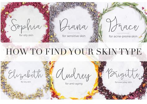 skin care how to determine your skin type oily dry etc how to find your skin type wild skin cares
