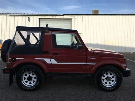 Suzuki Jeep Price Suzuki Samurai 4x4 Rust Free 2nd Owner Must See