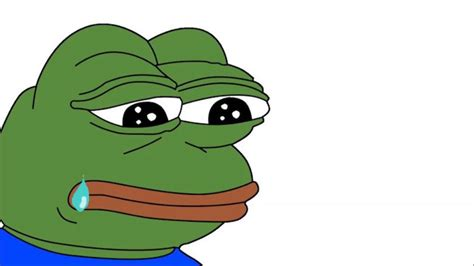 Pepe Crying Meme