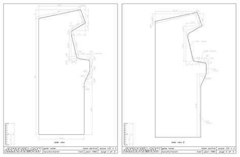 How To Build An Arcade Cabinet Plans by Home Arcade Machine Part 7 Cabinet Plans Retromash