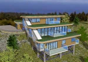 Sloping Lot by Mountain Home Plans For Sloped Lots Home Design Inside