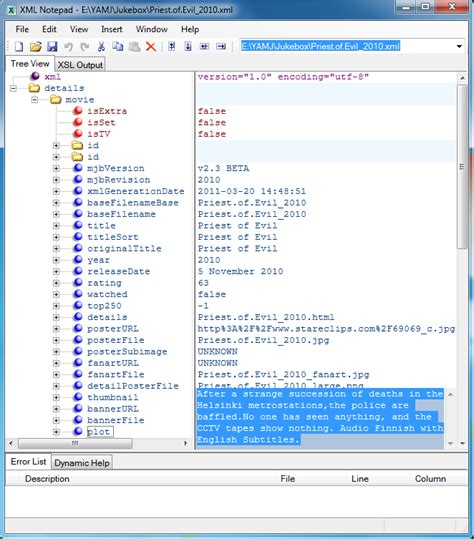 xml layout notepad very nice xml editor for y2m xml notepad