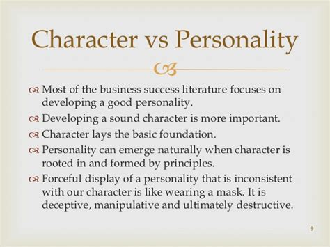 character traits characterization success character book review of seven habits of highly effective people