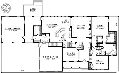 one level home plans spacious one level home plan 89207ah architectural designs house plans