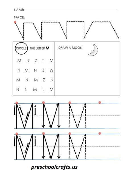 alphabet worksheets letter m alphabet letter m worksheets preschool crafts