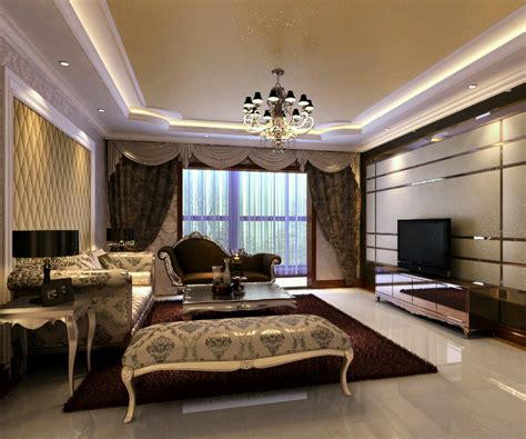 Living Room Interior by New Home Designs Luxury Homes Interior Decoration