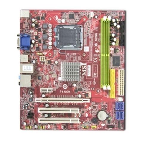 Msi N1996 Sockel by Msi P6ngm L Motherboard Nvidia Geforce 7050 610i Socket 775 Microatx Audio Vga Pci