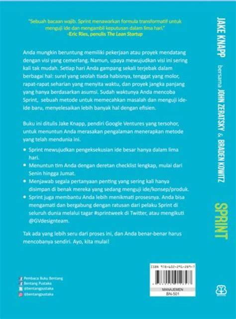 Sprint Pecahkan Masalah Masalah Besar Bukukita Sprint Toko Buku