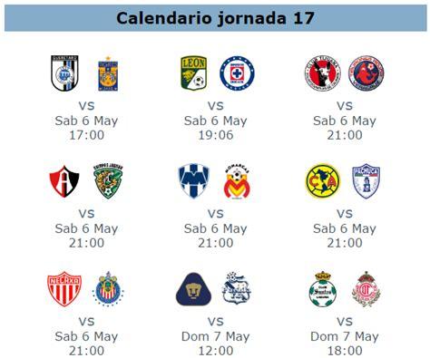 Calendario Jornada 17 Liga Mx Apertura El 11 Ideal De La Jornada 17 Futbol Mexicano Revista