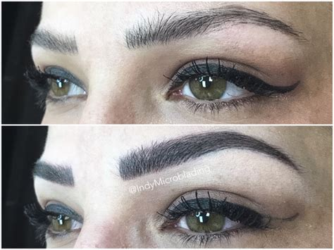tattooed eyebrows healing process indy microblading eyebrows on fleek microblading