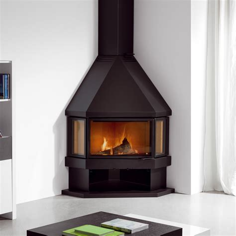 wood burning stove with wood storage simplify your indoor warming stuff with corner wood