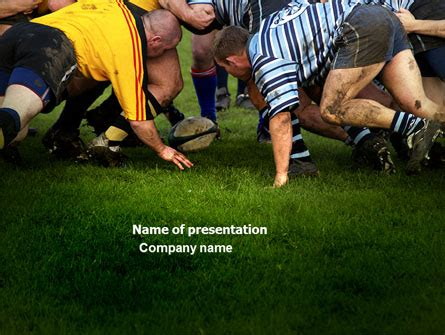 power point themes rugby rugby powerpoint template backgrounds 04352