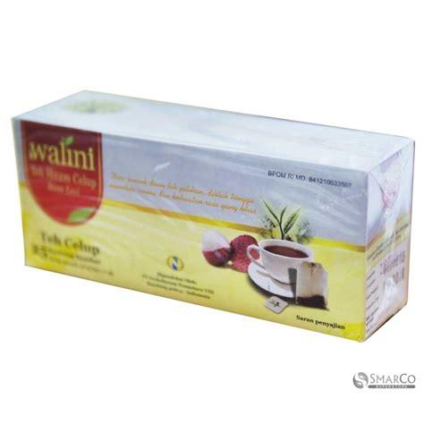 detil produk walini teh celup rasa leci 25 bags 50 gr 1014090030312 8992829910436 superstore the