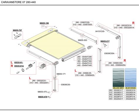 dometic rv awning parts dometic awning parts diagram images