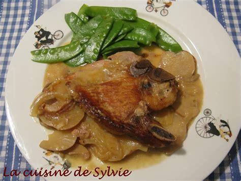 sylvie cuisine la cuisine de sylvie c 244 telettes de porc barbara mijoteuse