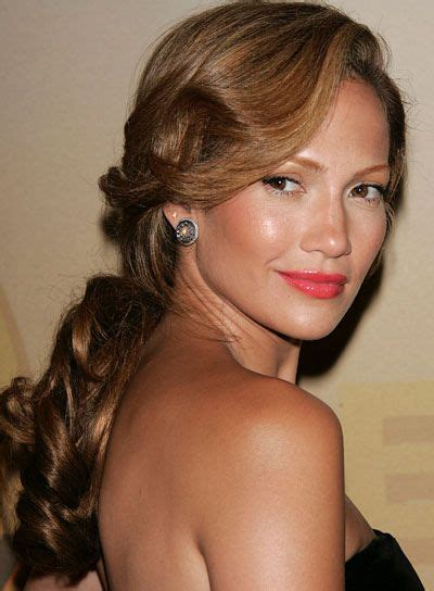 j lo hair new short curly 2014 j lo curly ponytail la coiffure elnett by l or 233 al paris