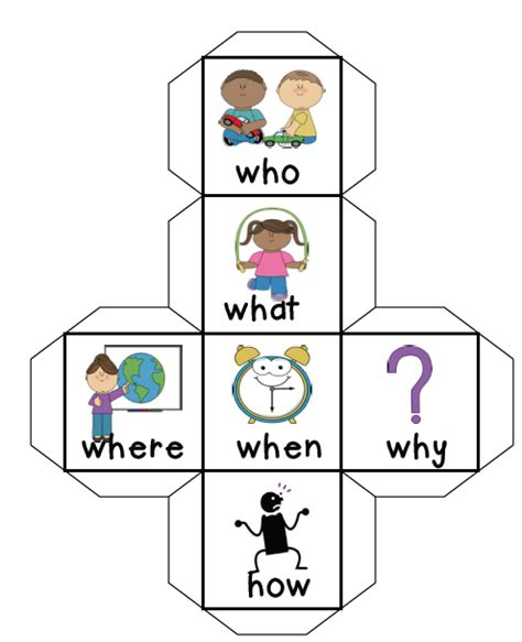 Comprehension Cube By Mrs N This Is A Fun Way To Get